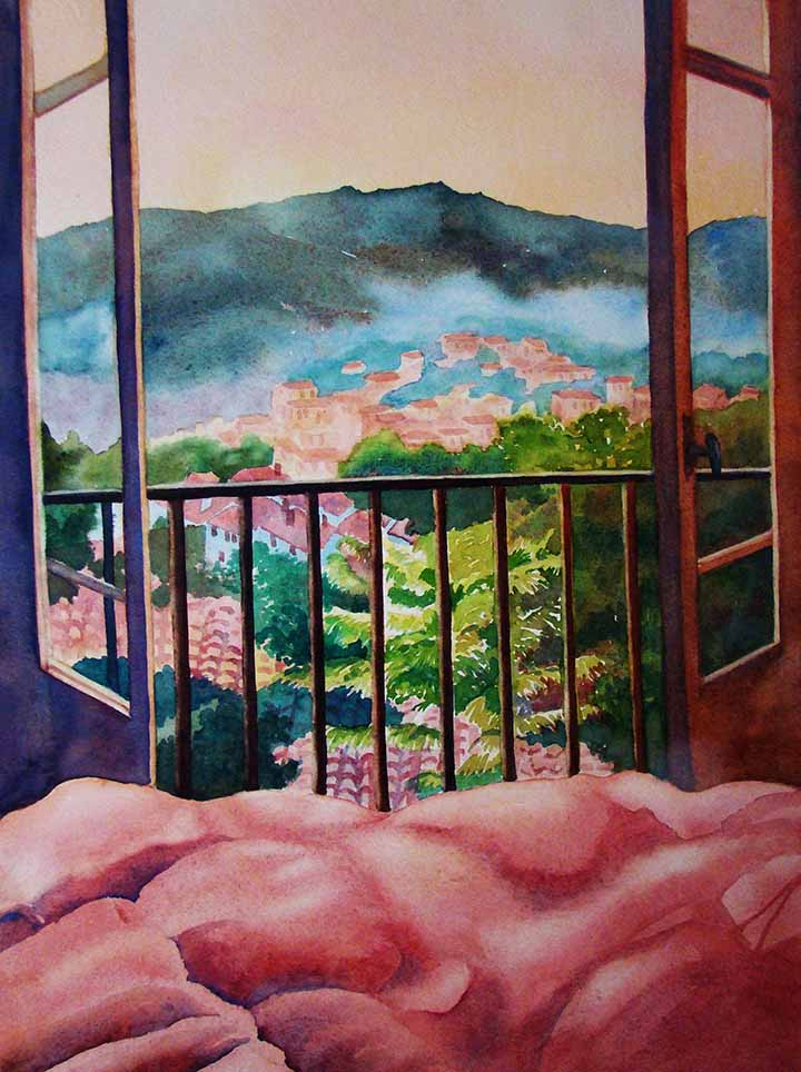 Evelyn Dunphy - View from My Room